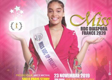 Miss RDC DIASPORA France 2020