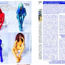 Parution dans le magazine LES NOUVELLES ESTHÉTIQUES n° novembre 2019